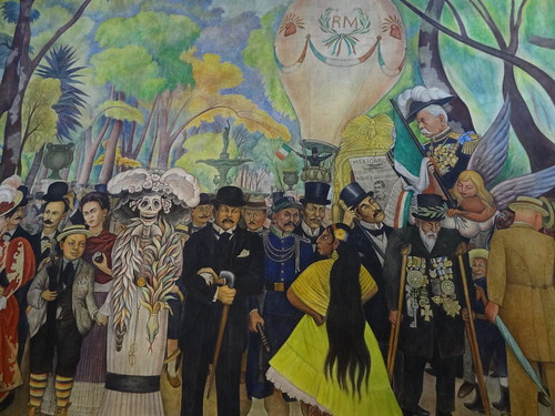 Mural by Diego Rivera