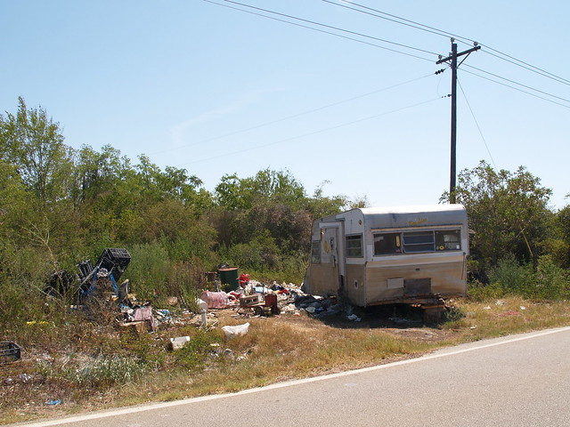 6940016334_3245245bd0_z Junky Mobile Home Trailer on small mobile homes, single wide mobile homes, old mobile homes, dirty mobile homes, back porches for mobile homes, fleetwood double wide mobile homes, ugly mobile homes, crazy mobile homes,