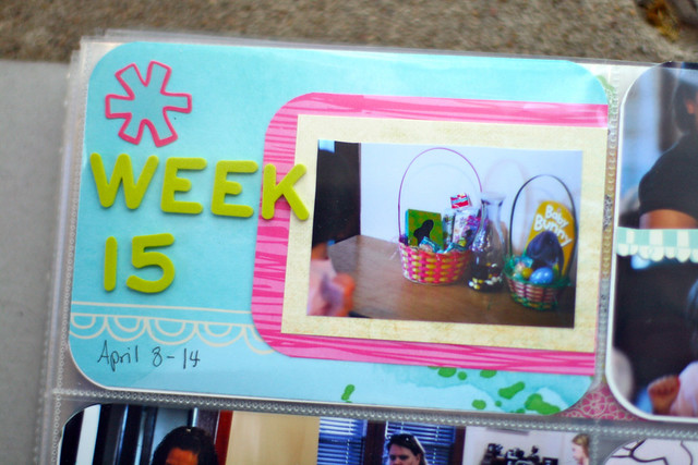 Project Life 2012 | Week 15