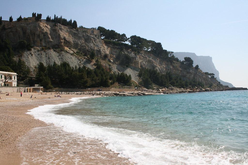 Cassis beach france