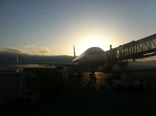 Icelandair Plane at Keflavik