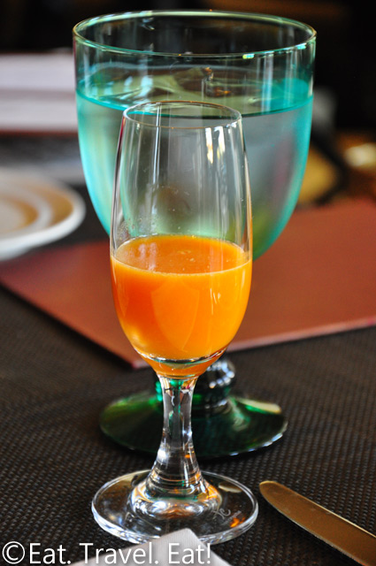 St Regis Monarch Beach- Dana Point, CA: Motif- Raspberry Orange Juice