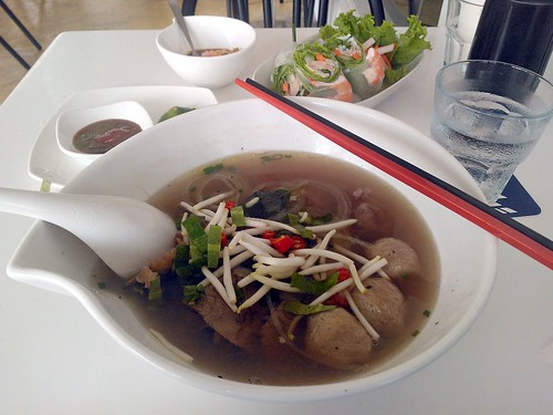 Pho Beef Feast Combo and Summer Rolls