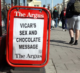 Vicars, sex and chocolate - the perfect Easter treat!