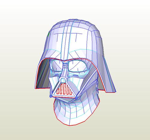 Star Wars pepakura files