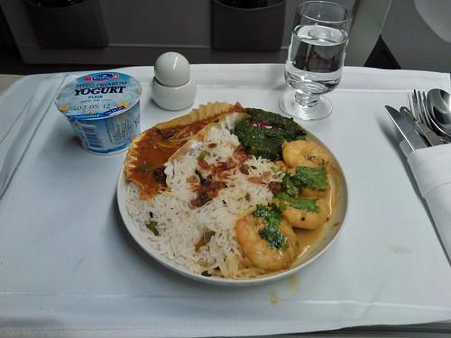 Awadhi jheenghey, bhien palak, rajimah anardana, and zaitoomi pulao