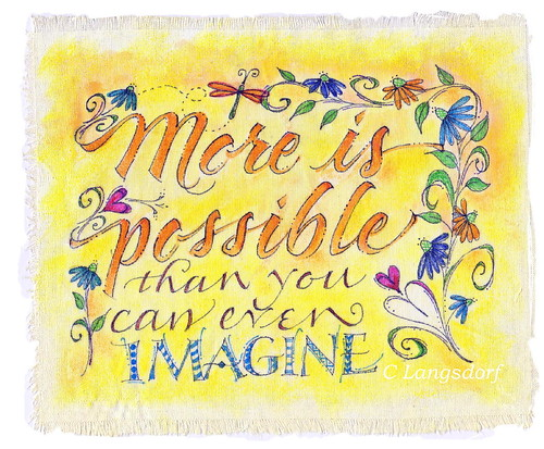 imagine blog by long village lettering