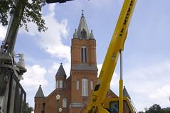 Father Lafleur Monument Erection - August 30, 2007