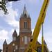 20070830 - Father Lafleur Monument Erection