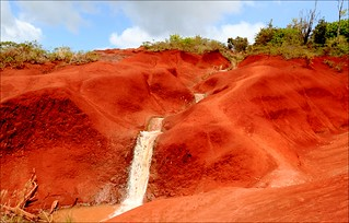 Red Dirt Falls, Kauai