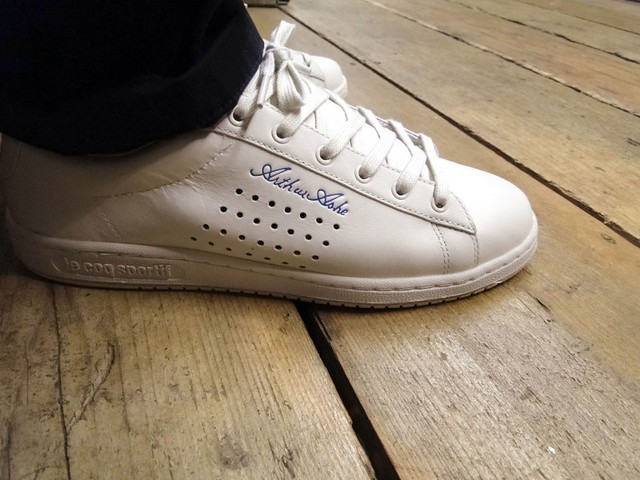 le coq sportif arthur ashe shoes flickr photo
