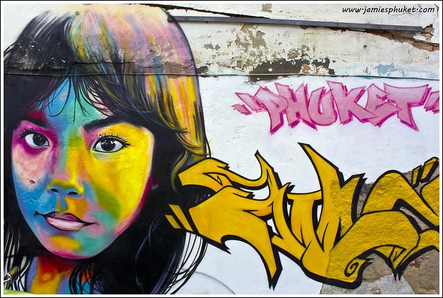 Phuket Town Graffiti