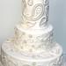 Paisley pearl cake inspired by a sari design by elizabethscakeemporium