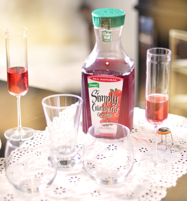 simply cranberyy juice cocktail