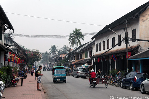 The mean streets of Luang Prabang