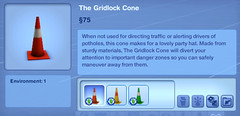 The Gridlock Cone
