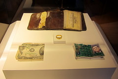 NYC - FiDi: 9/11 Memorial Visitor Center - Recovered Artifacts