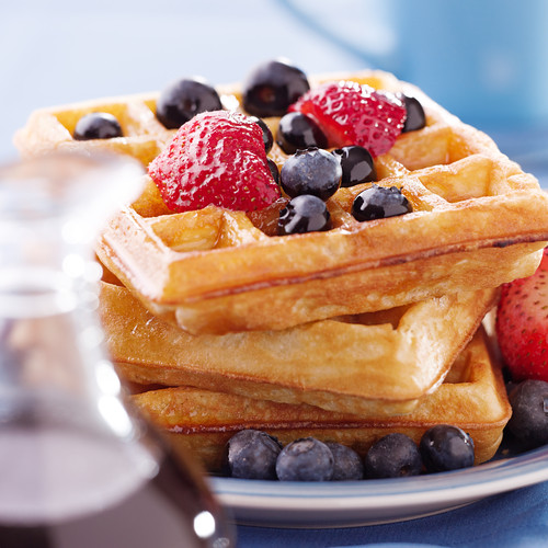flavored waffles