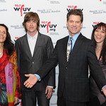 WFUV Gala 2012: Chris Isaak with Suzzy Roche, Rhett Miller and Maura Kennedy