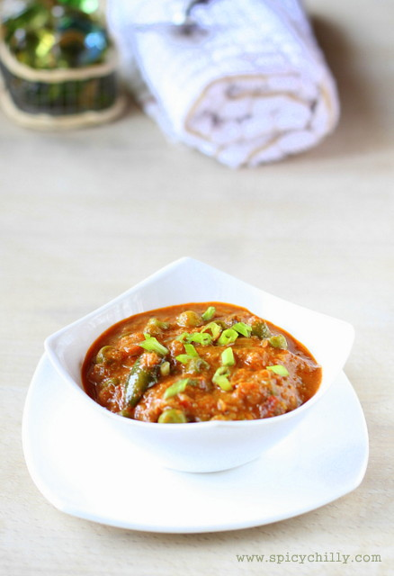 Spicy Chilly: Kerala Green Peas Masala