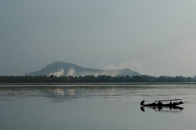Wular Lake In Kashmir
