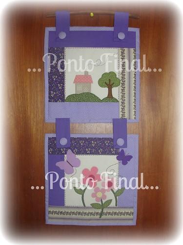 ...Panô duplo em patchwork... by Ponto Final - Patchwork