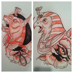 Egyptian God Tattoos Justin Harris Tattoo Justin Harris Tattoo