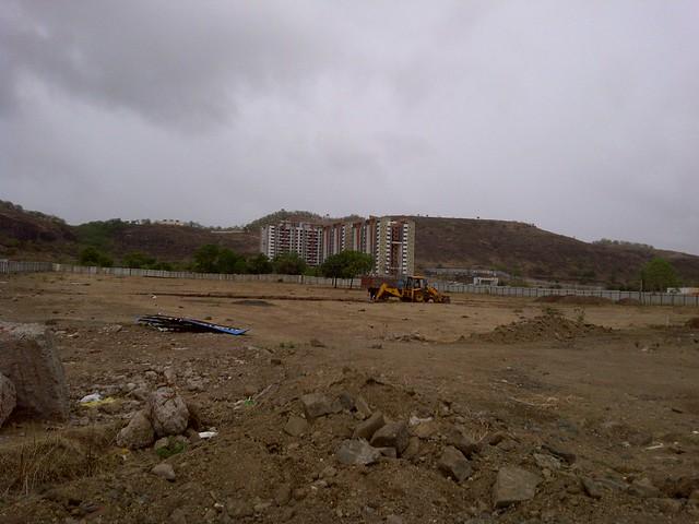 Development on open plot near Pride Platinum - Visit Amit's Sereno, Reelicon Alpine Ridge, Pride Platinum, Welworth Paradise, Venkateshwara Mirabel & Pride Valencia, near Pancard Clubs, Baner, Pune 411045