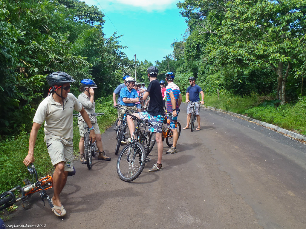 adventure travel in the galapagos islands, cycling