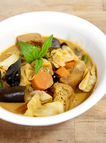 Chinese Style Vegetable Curry