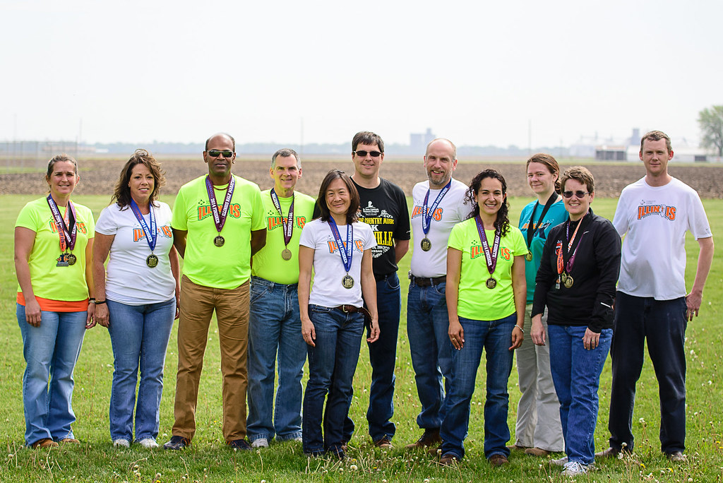 2014 Illinois Marathon Participants