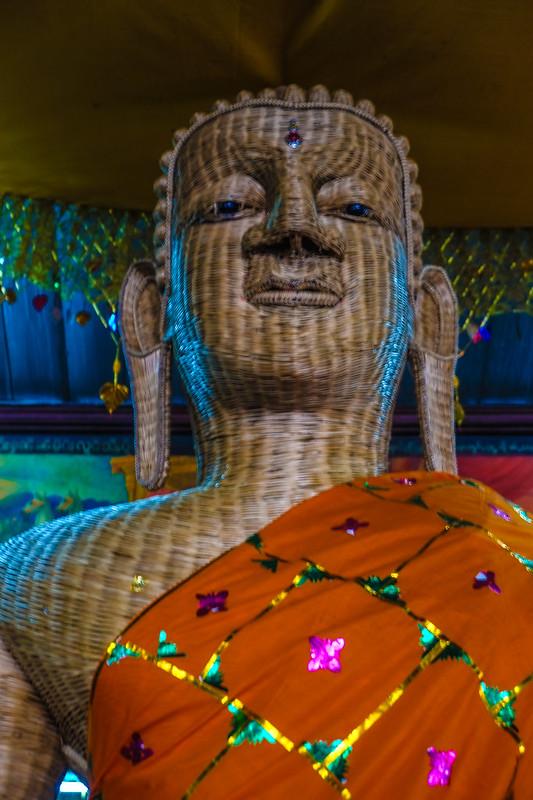 Under the Gaze of the Bamboo Buddha