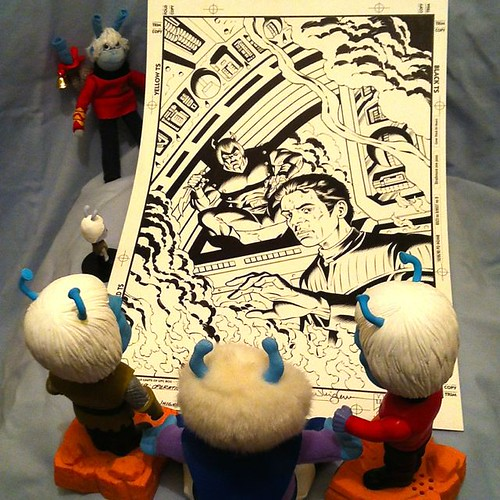 Comic art Andorian