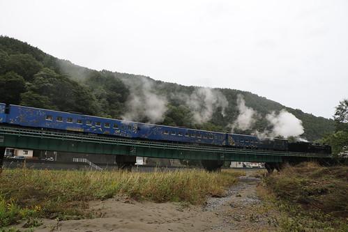 sl銀河 岩手 釜石 iwate kamaishi japan c58239 sl jr jr東日本 釜石線