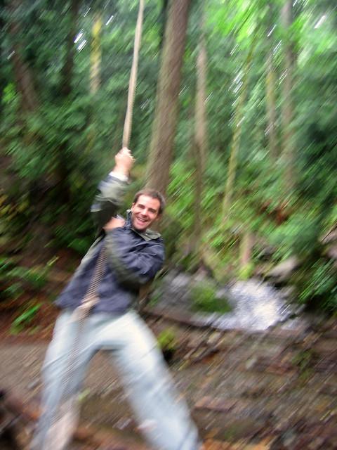 tay rope swing
