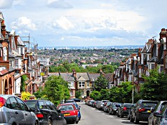 London, as seen from Muswell Hill, London