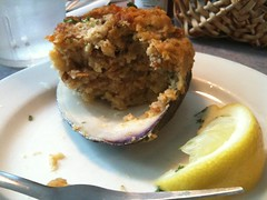 6/23/11 - Stuffed Quahog in Little Compton, RI