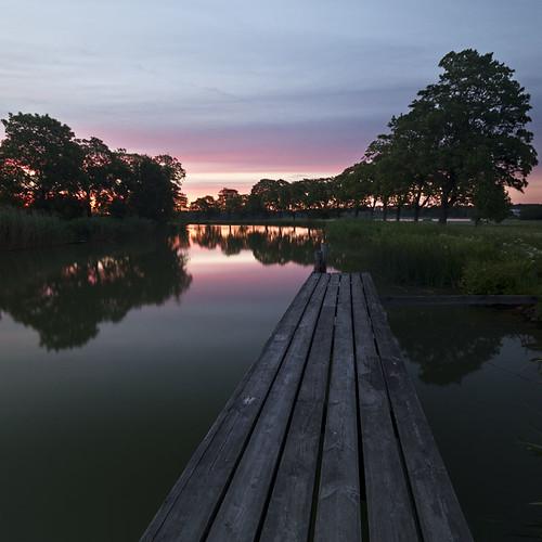 pink sunset sky evening canal sweden sverige götakanal östergötland ljung sigma1020mmf456exdchsm canoneos7d ginordic1