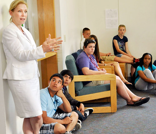 U.S. Sen. Kirsten Gillibrand at Colgate