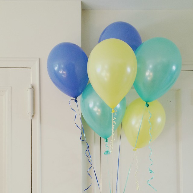 Balloons, because I'm happy. Clap along... #pharrell #yourewelcome
