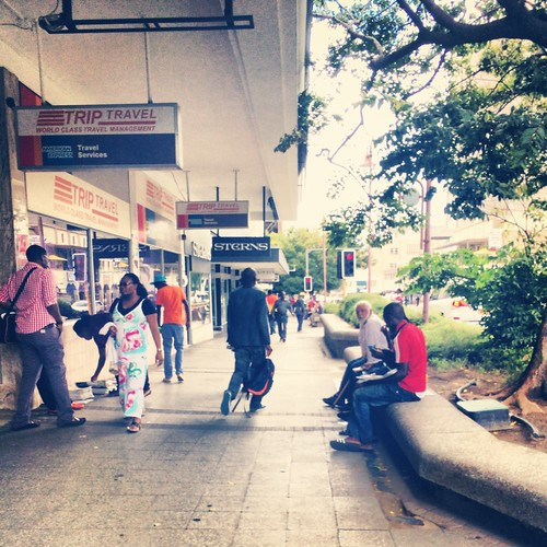 stroll around downtown