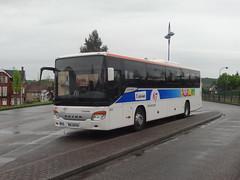 Setra S 415 UL n°M206  -  Gare SNCF d'Ingwiller