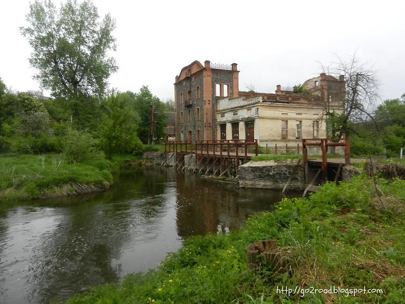 Мельница Потоцких на Южном Буге