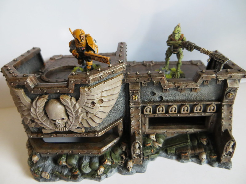 Wall of Martyrs Imperial Bunker with Tau
