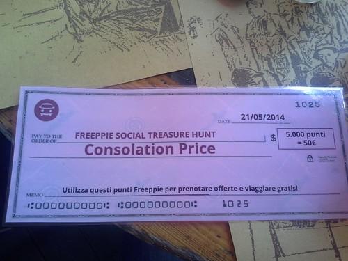 """""""premio di consolazione"""""""