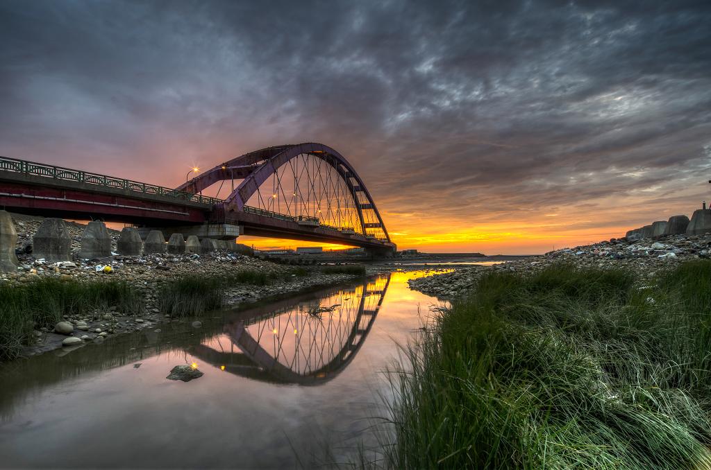 長潭~關渡~竹圍彩虹橋!!!