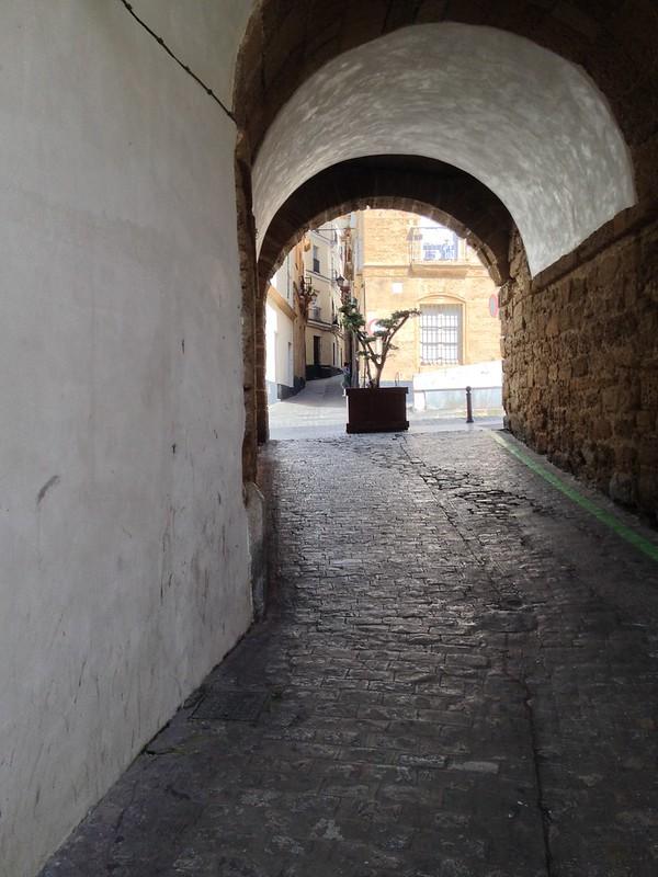 The oldest part of Cadiz