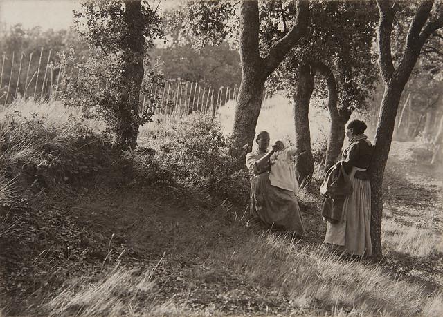 """Joan Vilatobà, """"Escena campestre"""" (1903)"""