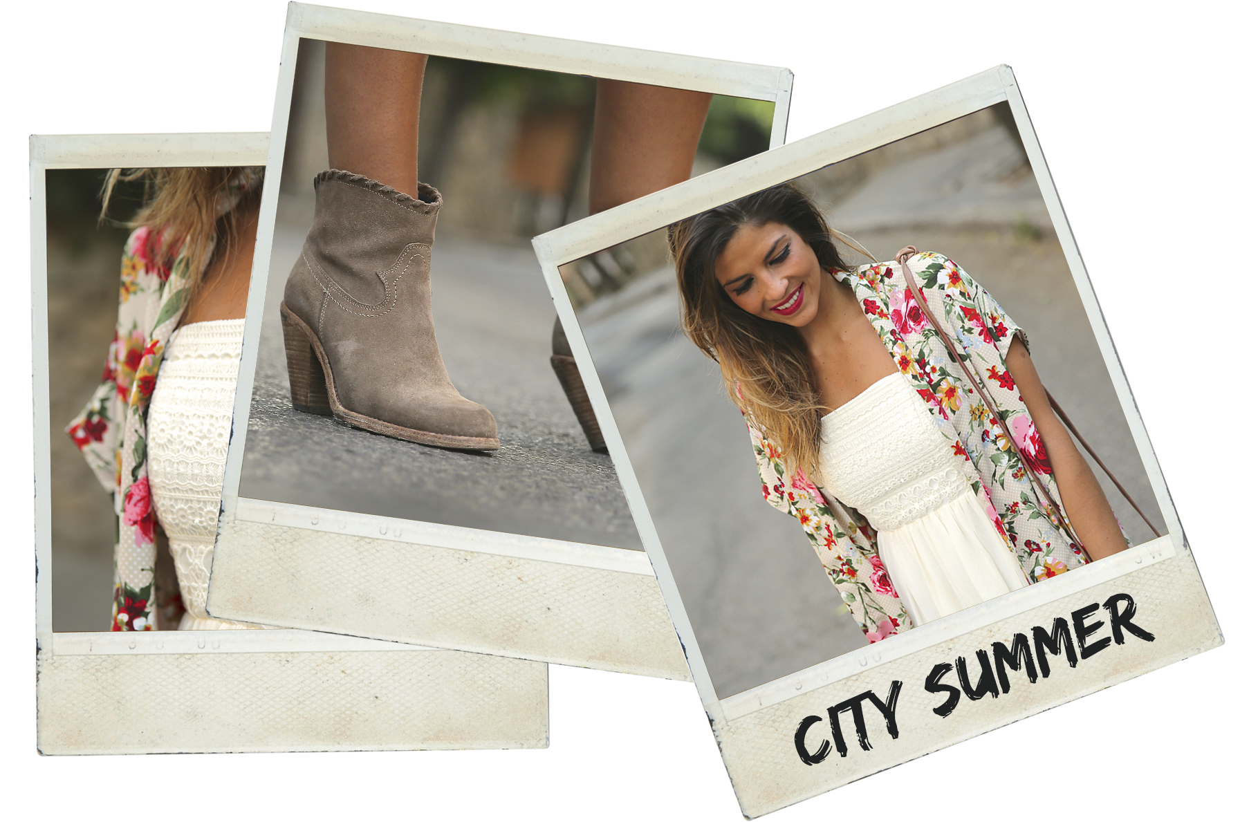 trendy_taste-look-outfit-street_style-ootd-blog-blogger-fashion_spain-moda_españa-kimono-vestido_blanco-vestido_verano-playa_beach-dress-cowboy_booties-botines_camperos-polaroid
