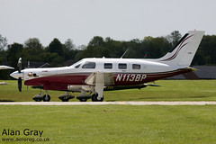 N113BP PIPER PA-46 350P MALIBU MIRAGE 4636363 CORPORATE - Sywell - 20130601 - Alan Gray - IMG_9115